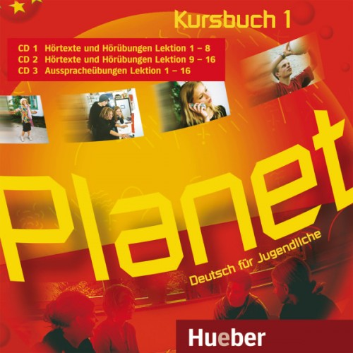 Planet 1 Audio-CDs zum Kursbuch (3)