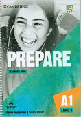 Prepare 2nd Edition 1 Teacher's Book with Downloadable Resource Pack