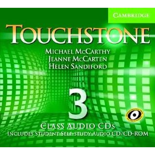 Touchstone Level 3 Class Audio CDs (4)