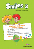 Smiles 3 Teacher's Multimedia Resource Pack (PAL) (set of 4)