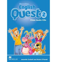 Macmillan English Quest Level 2 Class Audio CD