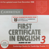 Cambridge First Certificate in English 3 for Updated Exam Audio CDs (2) (Лицензия)