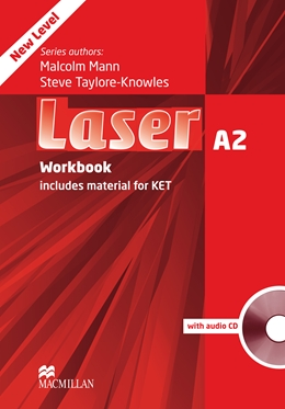 Laser Third Edition A2 Workbook without Key and CD Pack