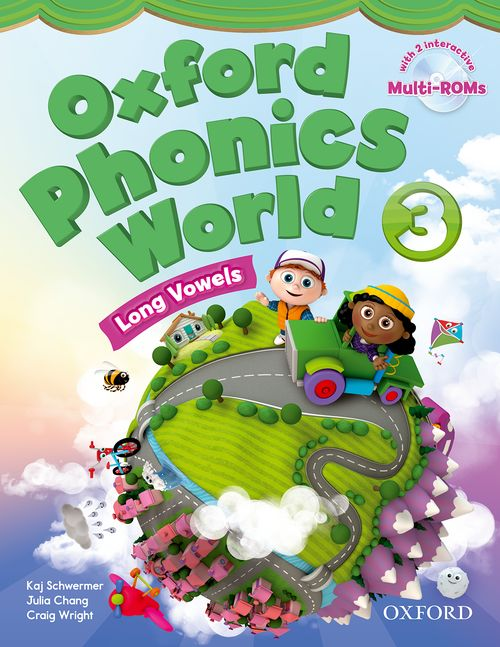 Oxford Phonics World 3 Student Book with MultiROM