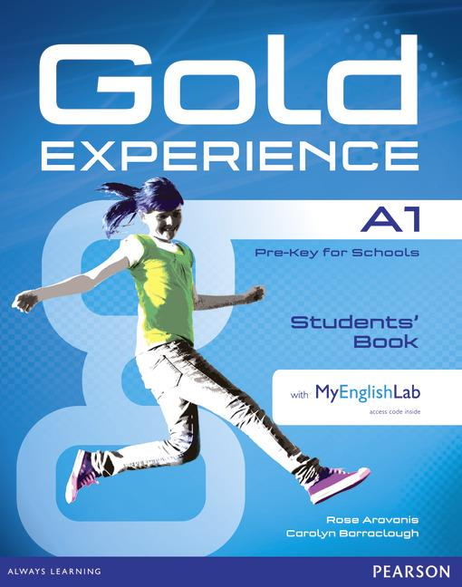 Gold Experience A1 Students' Book with DVD-ROM and MyEnglishLab