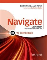 Navigate Pre-Intermediate B1 Coursebook + e-Book and Online Practice for Skills, Language and Work