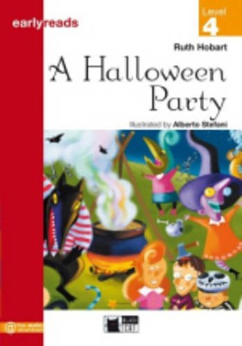 Black Cat Earlyreads Level 4: Halloween Party with Audio CD