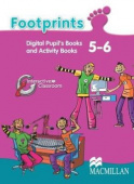 Footprints 5 - 6 Interactive Digital CD Book Pack