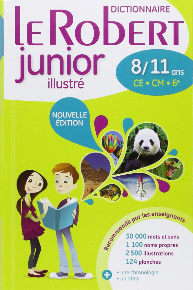 Dictionnaire Le Robert Junior illustre - 8-11 ans