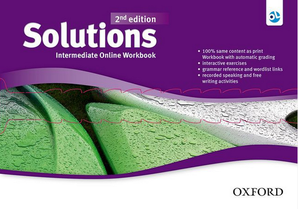 Solutions Second Edition Intermediate Online Workbook - Card with Access Code