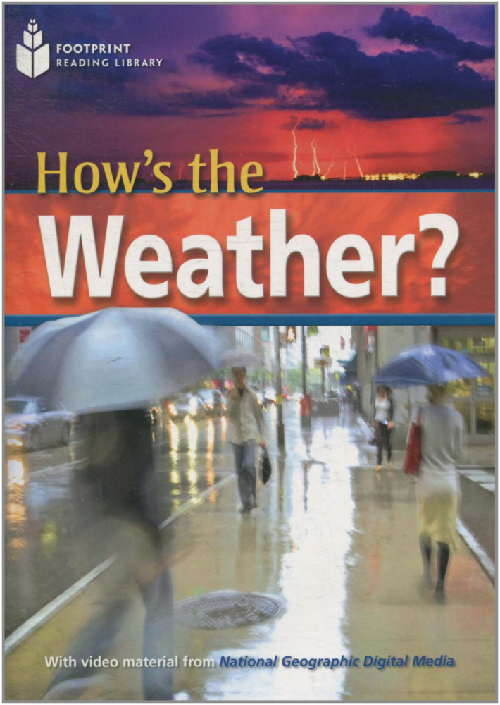 Fotoprint Reading Library B2 How's the Weather? with CD-ROM