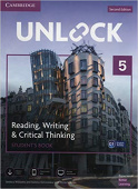 Unlock 2nd edition 5 Reading, Writing, & Critical Thinking Student's Book, Mob App and Online Workbook