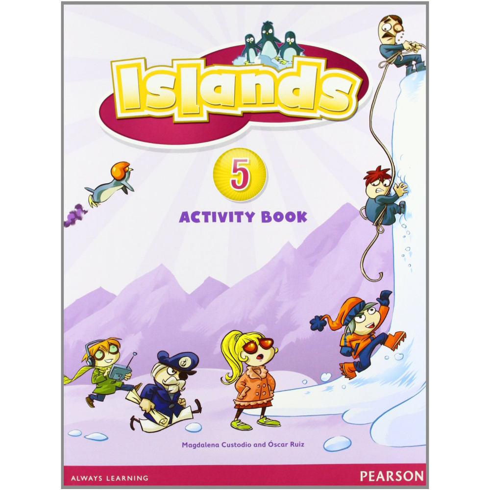 Islands Level 5 Activity Book plus Pin Code