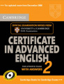 Cambridge Certificate in Advanced English 2 for updated exam