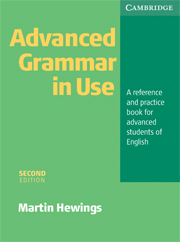 Advanced Grammar in Use 2nd Edition Book without answers