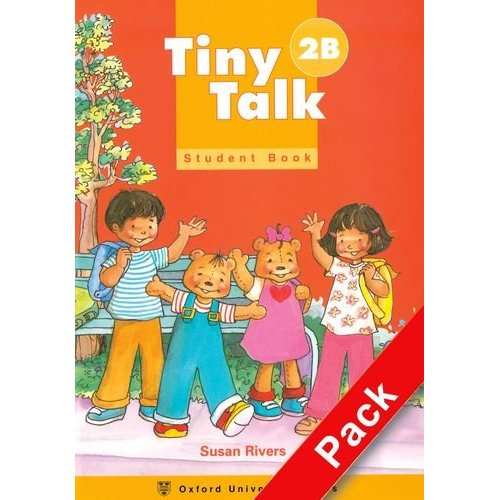 Tiny Talk 2 Pack (B) (Student Book and Audio CD)