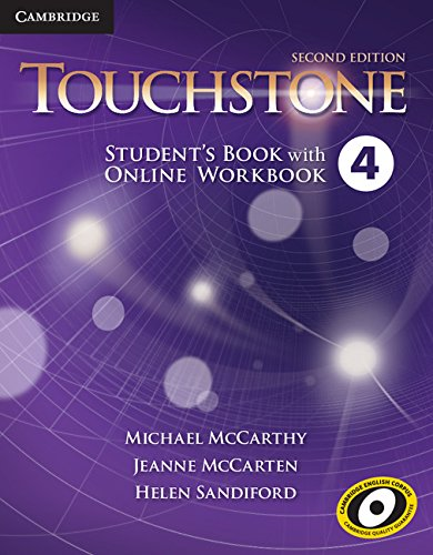 Touchstone Second Edition 4 Student's Book with Online Workbook
