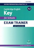 Oxford Preparation and Practice for Cambridge English A2 Key for Schools Exam Trainer without Key