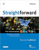 Straightforward (Second Edition) Pre-Intermediate Student's Book + Webcode + e-book