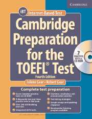 Cambridge Preparation for the TOEFL Test (Fourth Edition) Book with CD-ROM