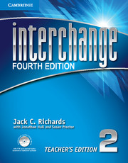Interchange Fourth Edition 2 Teacher's Edition with Assessment Audio CD/CD-ROM