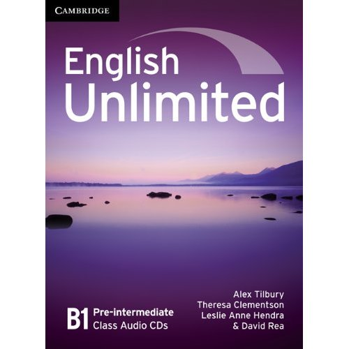 English Unlimited Pre-intermediate Class Audio CDs (3) (Лицензия)