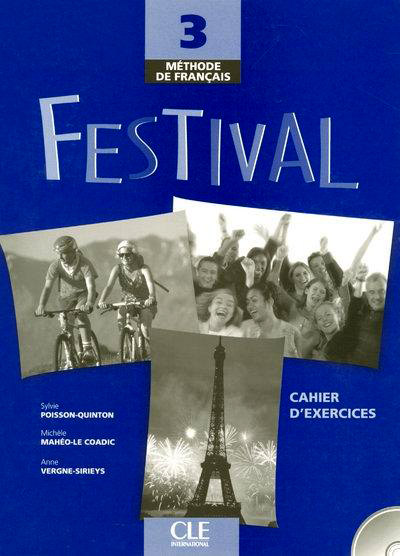 Festival 3 - Cahier d'exercices + CD audio