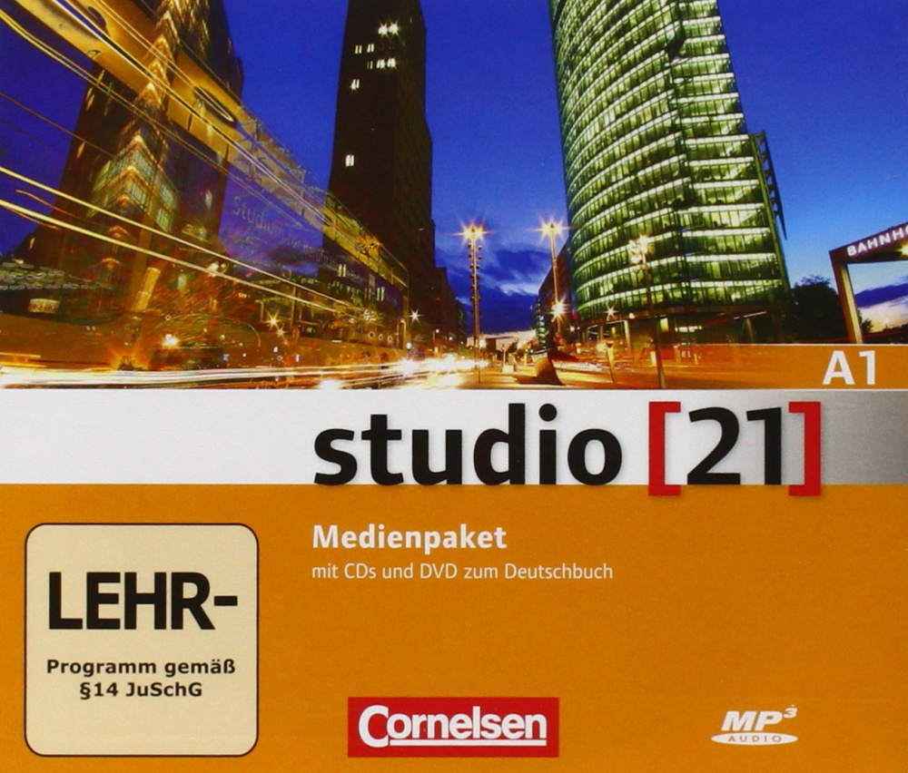 studio 21 - A1 Medienpaket: Audio-CDs und Video-DVD