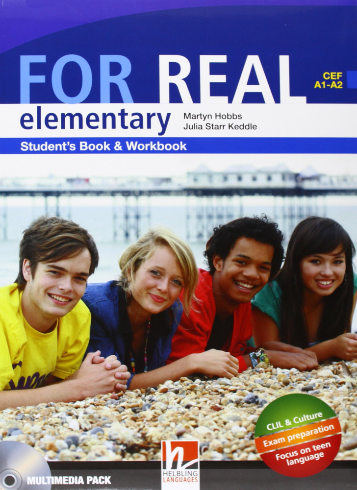 For Real Elementary Student's Pack (SB + WB) with CD/CD-ROM
