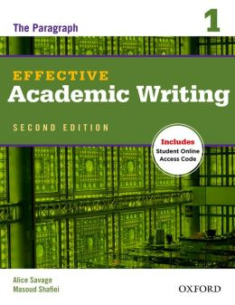 Effective Academic Writing Second Edition 1 Student Book with Student Online Access Code