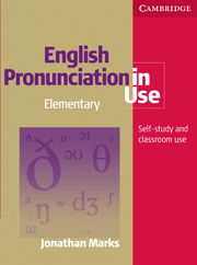 English Pronunciation in Use Elementary Book with answers