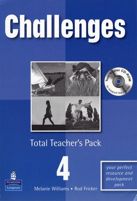 Challenges Level 4 Total Teachers Pack & Test Master CD-Rom