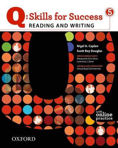 Q: Skills for Success Reading and Writing 5 Student Book with Online Practice