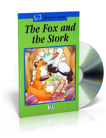 ELi Readers Green Series: (A1) Fox and the Stork with CD