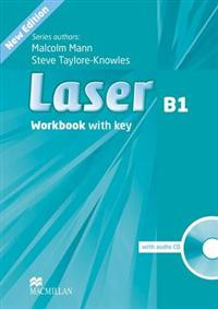 Laser Third Edition B1 Workbook with Key and CD Pack