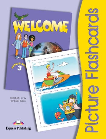 Welcome 3 Picture Flashcards