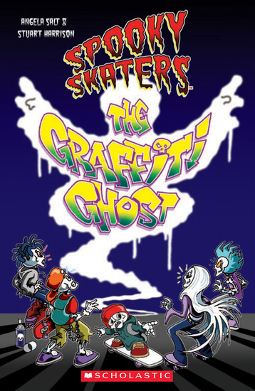 Level 1: Spooky Skaters: The Graffiti Ghost  + Audio CD
