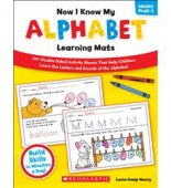 Now I Know My Alphabet Learning Mats