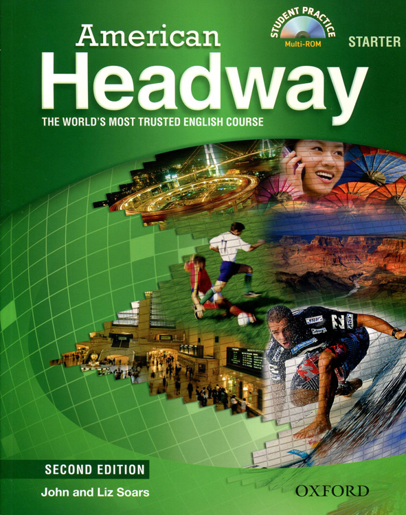 American Headway Second Edition Starter Student Book with Student Practice MultiROM