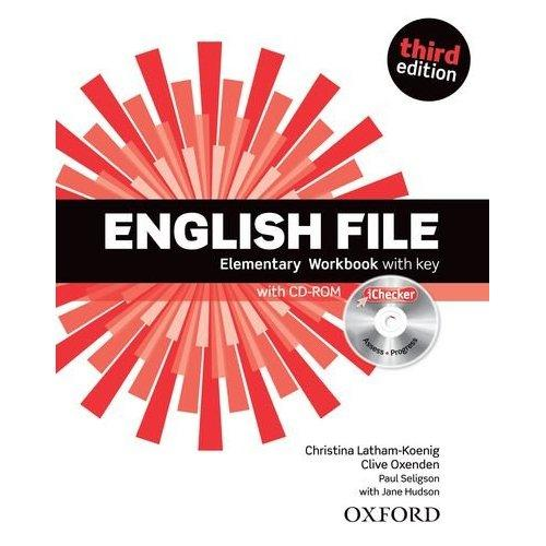 English File Third Edition Elementary Workbook with key and iChecker