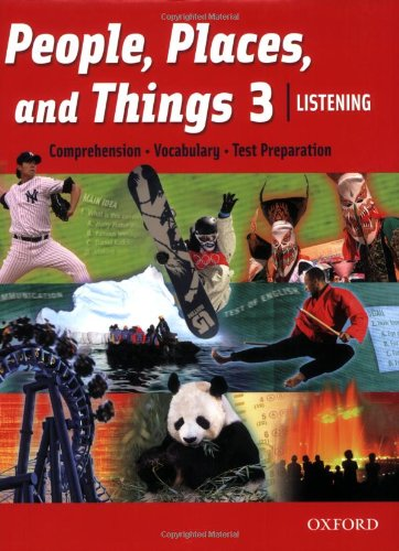 People, Places, and Things Listening 3 Student Book