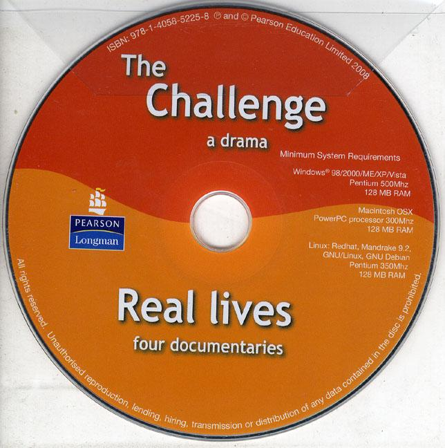 New Snapshot DVD & Video The Challenge and Real Lives DVD