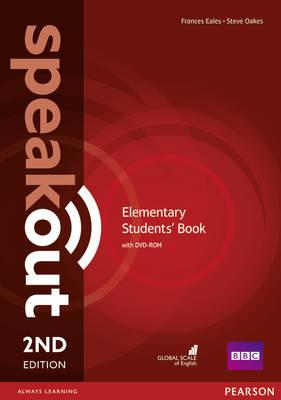 Speakout Second Edition Elementary Students' Book with DVD