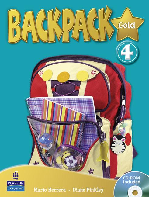 Backpack Gold Level 4 Students' Book (with CD-ROM)