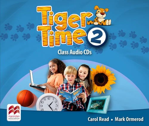 Tiger Time 2 Class Audio CDs