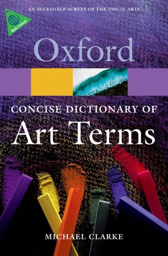 The Concise Dictionary of Art Terms (Oxford Paperback Reference)