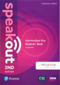 Speakout Second Edition Intermediate Plus Students' Book with DVD & MyEnglishLab