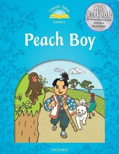 Classic Tales Second Edition: Level 1: Peach Boy e-Book & Audio Pack