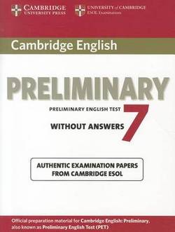 Cambridge English Preliminary 7 Student's Book