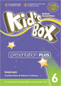 Kid's Box Updated edition 6 Presentation Plus DVD-ROM